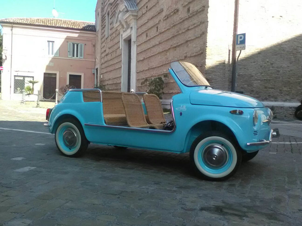 1970 Fiat Jolly Spiaggina Replica La Scuderia