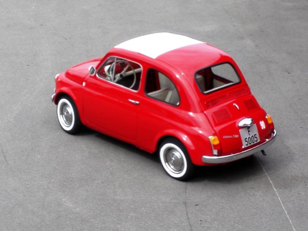 1968 fiat 500 f rosso corsa ferrari r d la scuderia. Black Bedroom Furniture Sets. Home Design Ideas